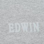 Мужская толстовка Edwin Classic Logo Sweat Grey Marl фото- 2