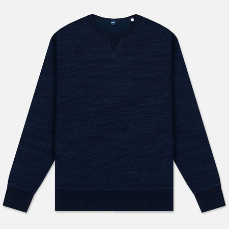 Мужская толстовка Edwin College Crew Heavy Fleece Dark Indigo