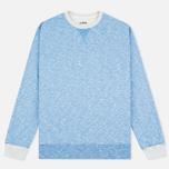 Edwin National Sweat Men`s Sweatshirt Royal Blue photo- 0