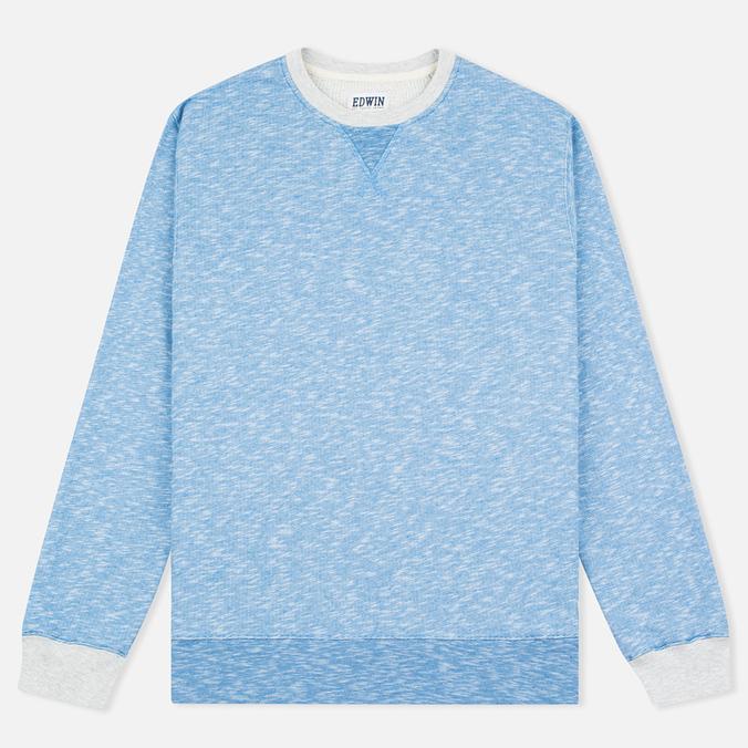 Edwin National Sweat Men`s Sweatshirt Royal Blue