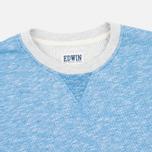 Edwin National Sweat Men`s Sweatshirt Royal Blue photo- 1
