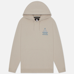 Мужская толстовка Edwin Self-Examination Hoodie Silver Cloud Garment Wash