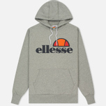 Мужская толстовка Ellesse Gottero Hoody Athletic Grey Marl фото- 0