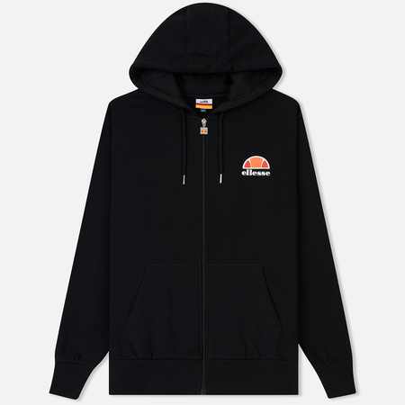 Мужская толстовка Ellesse Miletto Full Zip Hoody Anthracite