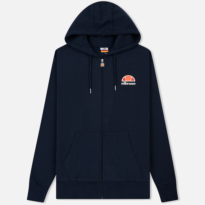 Мужская толстовка Ellesse Miletto Full Zip Hoody Dress Blue