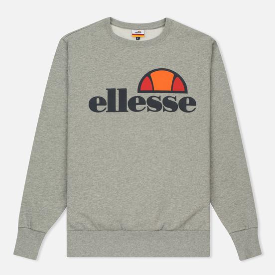 Мужская толстовка Ellesse Succiso Crew Athletic Grey Marl