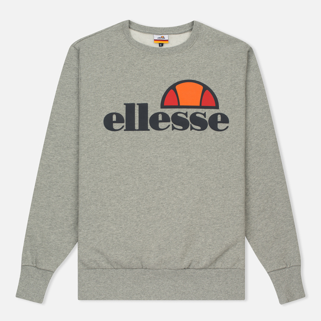 Мужская толстовка Ellesse Succiso Crew Athletic Grey Marl