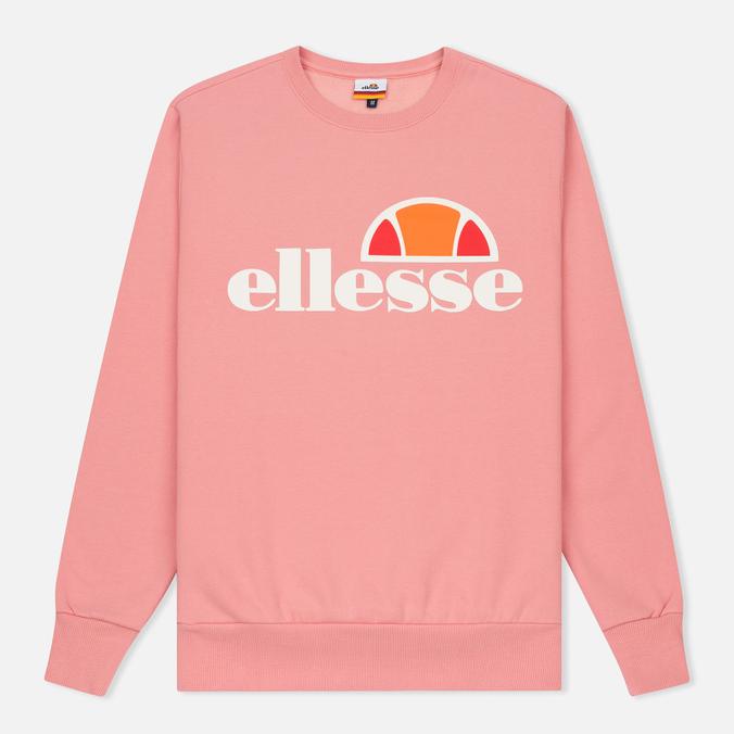 Мужская толстовка Ellesse Succiso Crew Candy Pink