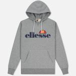 Мужская толстовка Ellesse Toppo Overhead Hoody Athletic Grey Marl фото- 0