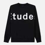 Мужская толстовка Etudes Color Etudes Logo Black фото- 0