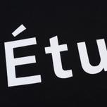 Мужская толстовка Etudes Color Etudes Logo Black фото- 2