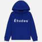 Мужская толстовка Etudes Klein Etudes Front Logo Blue фото - 0