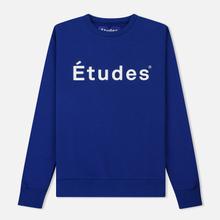 Мужская толстовка Etudes Store Etudes Blue фото- 0