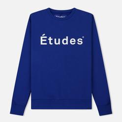 Мужская толстовка Etudes Store Etudes Blue