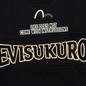 Мужская толстовка Evisu Evisukuro EK Reworked Side Zipper Black фото - 2