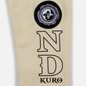 Мужская толстовка Evisu Evisukuro & Hannya Heraldry Hoodie Kamon Badge Beige фото - 4