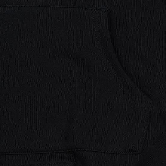 Мужская толстовка Evisu Evisukuro Reworked Second Hand Style Hoodie Black