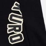 Мужская толстовка Evisu Evisukuro Reworked Second Hand Style Hoodie Black фото- 3