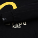 Мужская толстовка Evisu Evisukuro Reworked Second Hand Style Hoodie Black фото- 4