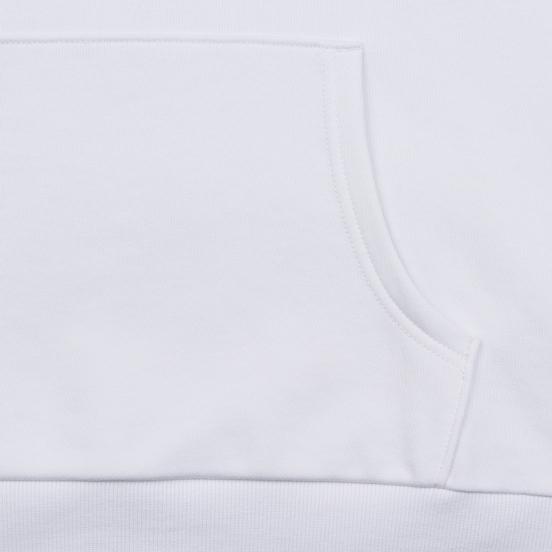 Мужская толстовка Evisu Hoodie With Detectable Arm Sleeves Bright White