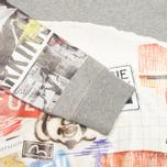 Мужская толстовка Evisu Playful Print Grey фото- 2