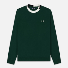 Мужская толстовка Fred Perry Abstract Crew Neck Ivy фото- 0