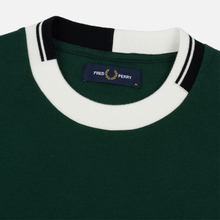 Мужская толстовка Fred Perry Abstract Crew Neck Ivy фото- 1