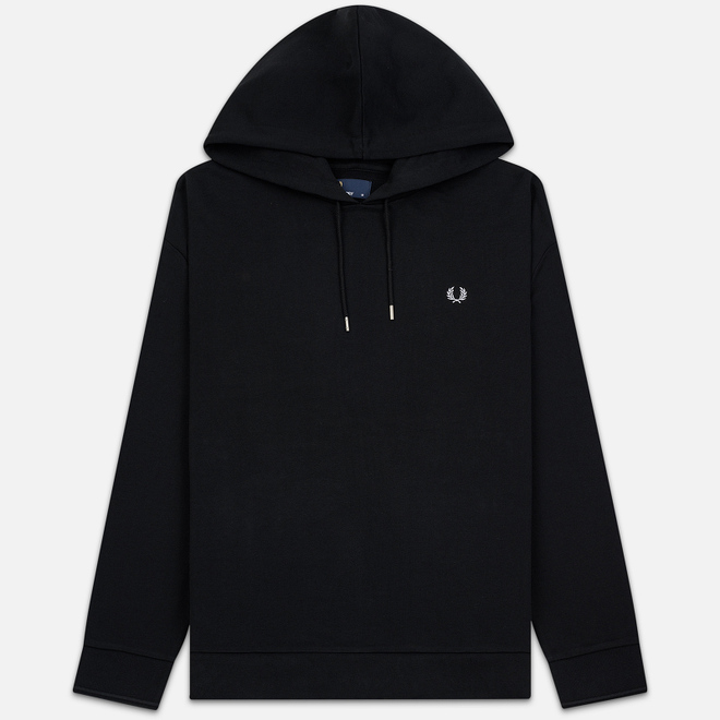 Мужская толстовка Fred Perry Blurred Laurel Wreath Black