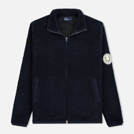 Мужская толстовка Fred Perry Borg Fleece Zip-Through Navy