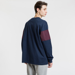 Мужская толстовка Fred Perry Contrast Panel Mahogany фото- 3