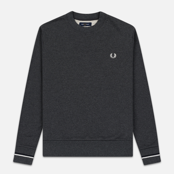 Мужская толстовка Fred Perry Crew Neck Graphite Marl