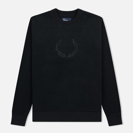 Мужская толстовка Fred Perry Embroidered Crew Neck Fleece Black