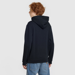 Мужская толстовка Fred Perry Embroidered Hooded Black фото- 3