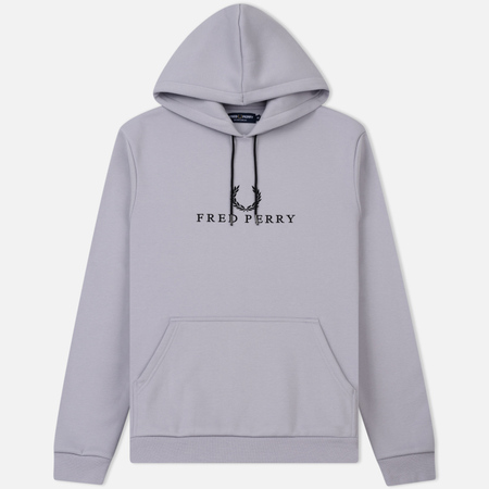 Мужская толстовка Fred Perry Embroidered Hooded Lilac