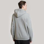 Мужская толстовка Fred Perry Embroidered Hooded Steel Marl фото- 3