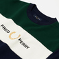 Мужская толстовка Fred Perry Embroidered Panel Carbon Blue фото - 1