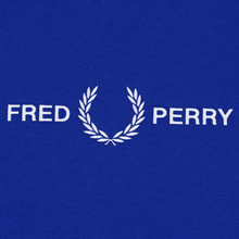 Мужская толстовка Fred Perry Graphic Bright Regal фото- 2
