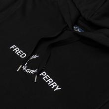 Мужская толстовка Fred Perry Graphic Hoodie Black фото- 1