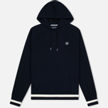 Fred Perry Hooded Logo Men's Hoody Navy photo- 0