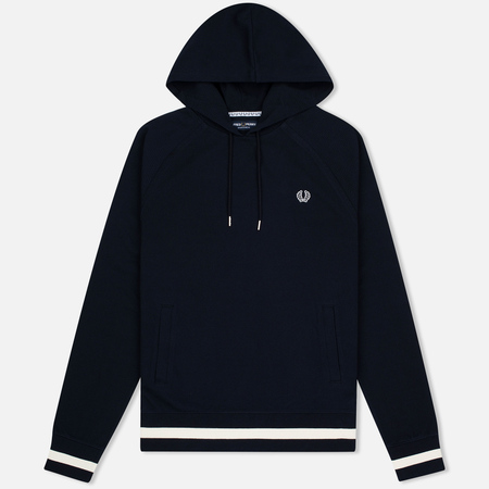 Fred Perry Hooded Logo Men's Hoody Navy