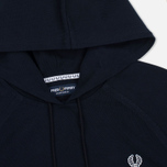 Fred Perry Hooded Logo Men's Hoody Navy photo- 1