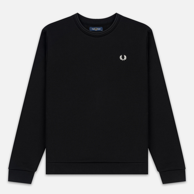 Мужская толстовка Fred Perry Laurel Wreath Print Black
