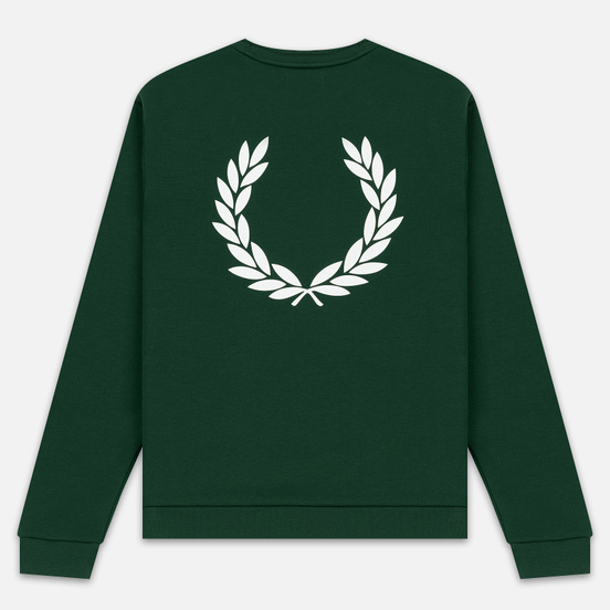Мужская толстовка Fred Perry Laurel Wreath Print Ivy