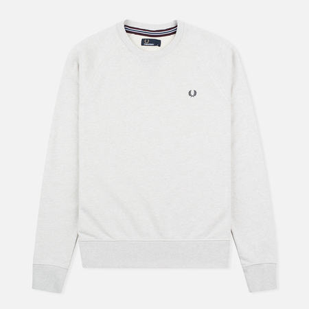 Мужская толстовка Fred Perry Loopback Crew Neck Natural Marl