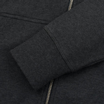 Мужская толстовка Fred Perry Loopback Hooded Graphite Marl фото- 5