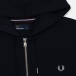 Мужская толстовка Fred Perry Loopback Hooded Navy фото- 1