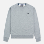 Мужская толстовка Fred Perry Loopback Neck Steel Marl фото- 0