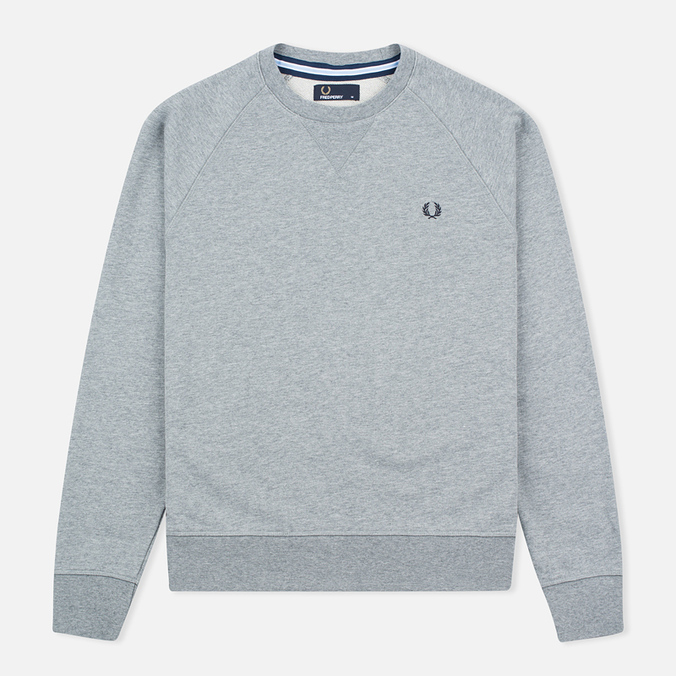 Мужская толстовка Fred Perry Loopback Neck Steel Marl
