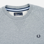 Мужская толстовка Fred Perry Loopback Neck Steel Marl фото- 1