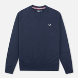 Fred Perry Loopback Neck Men`s Sweatshirt Navy photo- 0